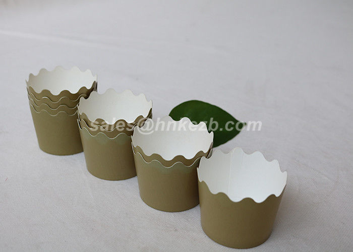 16oz Eco Friendly Paper Cake Cups Disposable Ice Cream Containers For Party Decoration