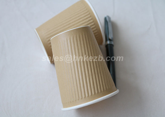 Disposable Cold Drink Paper Cups Single Wall Drinking Cups With Lids 20oz