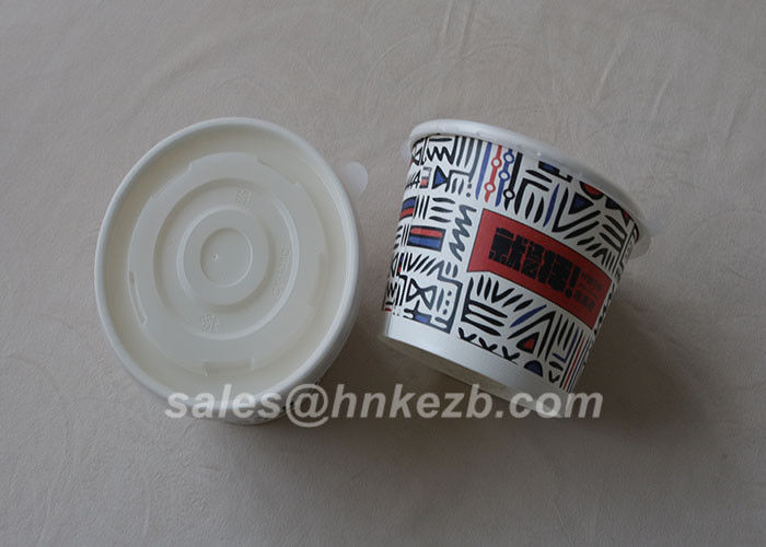 Unfolded 12oz Disposable Paper Cups Single / Double / Ripple Wall For Ice Cream